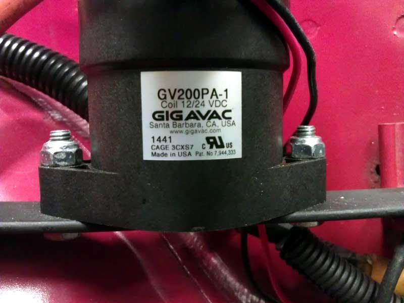 GIGAVAC contactor