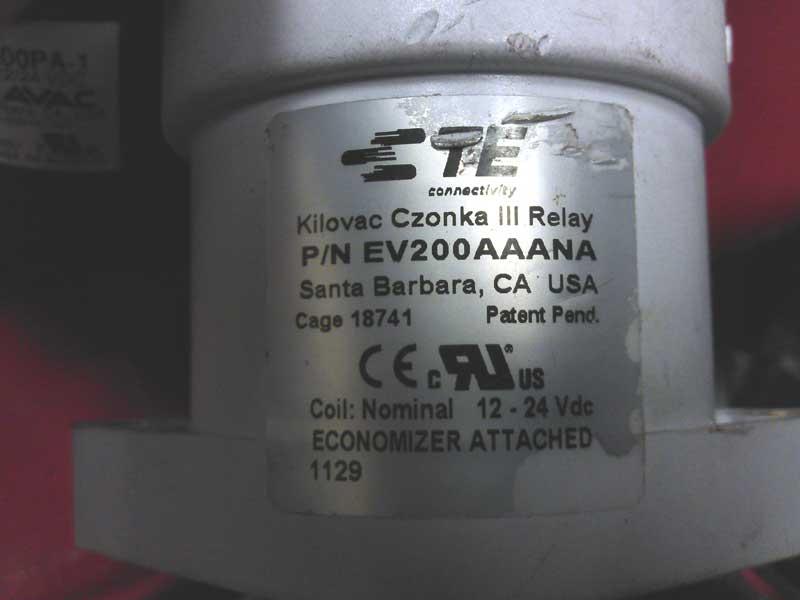Kilovac contactor