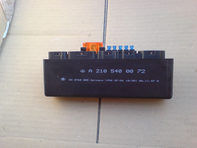 K Relay on Mercedes K40 Relay Location