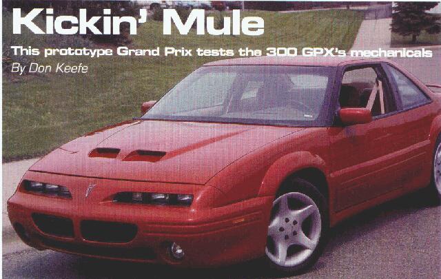 1995 grand prix hood