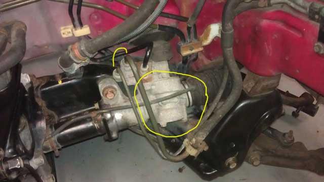 Honda Del Sol steering rack
