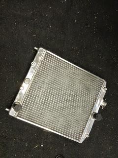 Honda Del Sol aluminum radiator
