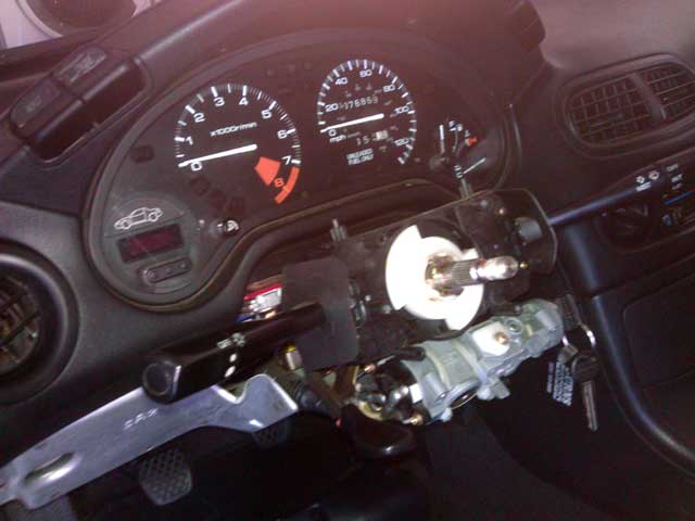 Honda Del Sol clock spring replacement