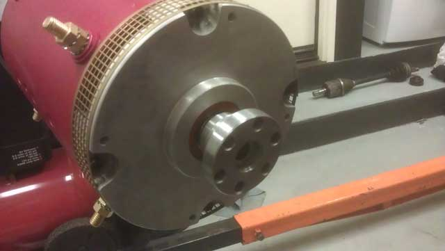 Warp9 motor with coupler
