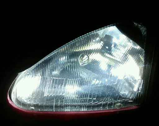 4300K HID lights for Honda Del Sol