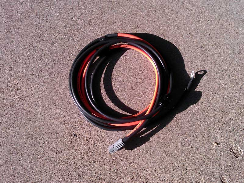 New electric car charge cable