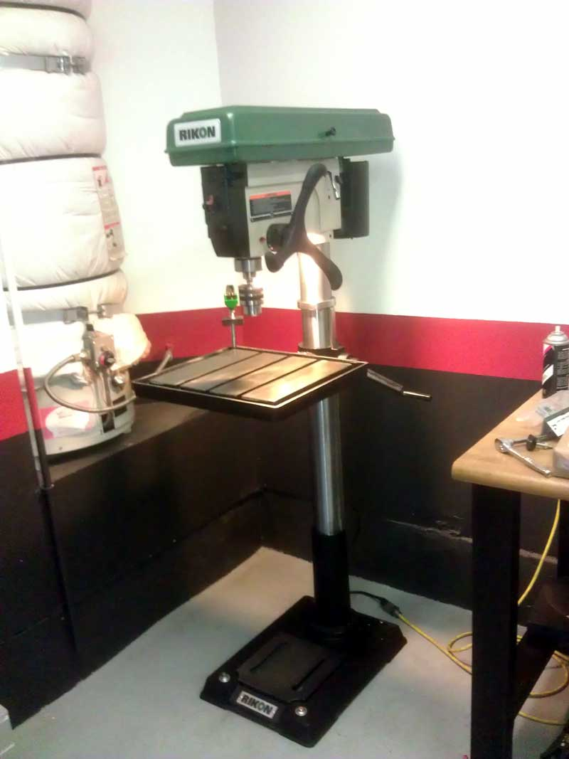 Rikon electric drill press