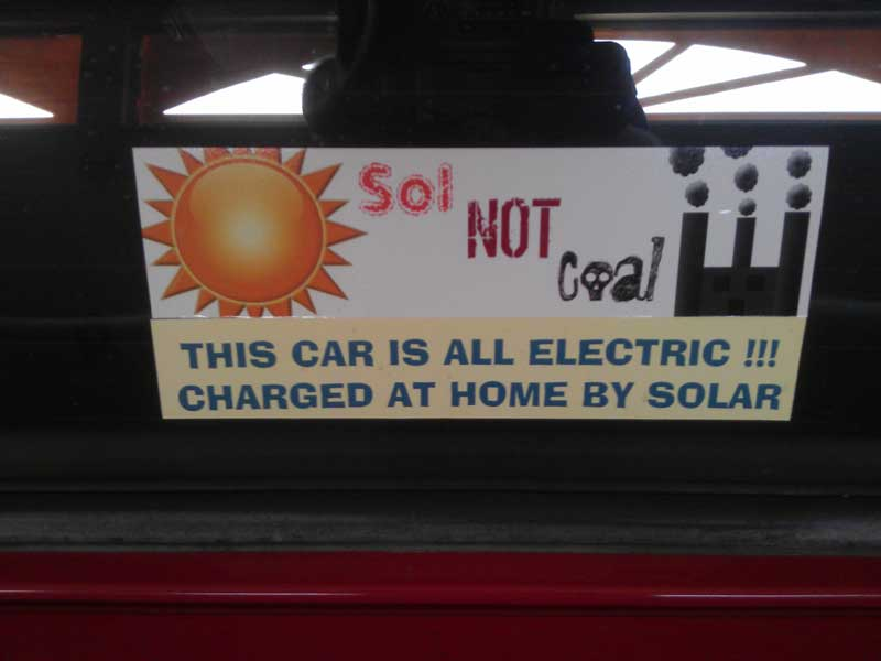 Honda Del Sol   Sol not coal sticker