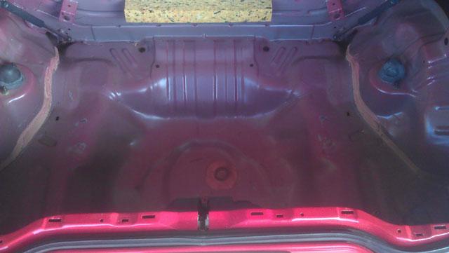 Honda Del Sol bare trunk